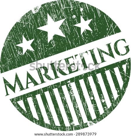 Marketing grunge seal