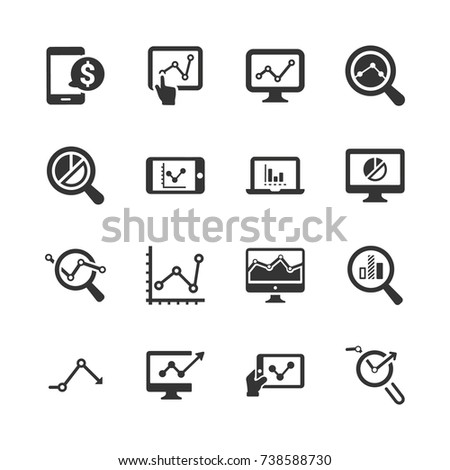 Marketing Research Icons