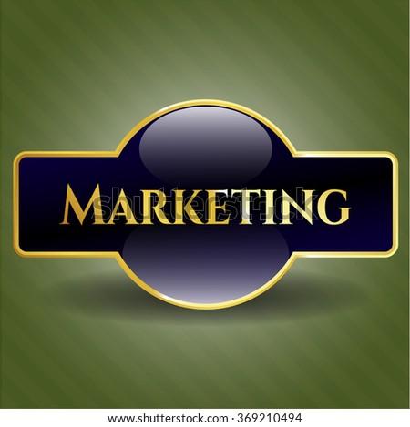 Marketing shiny badge