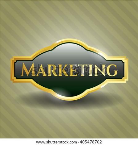 Marketing shiny emblem