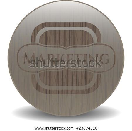 Marketing wood emblem