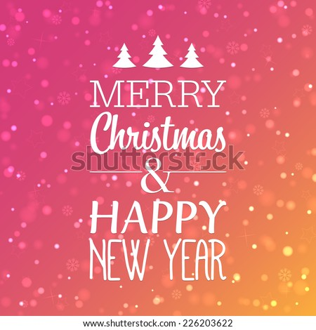 marry christmas and happy new