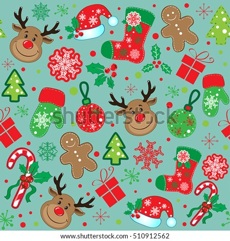 marry christmas pattern