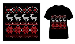Marry Christmas t shirt designs template. Vector graphic typographic design for poster, label, badge, logo,bags, stickers, curtains, posters, bed covers, pillows eps