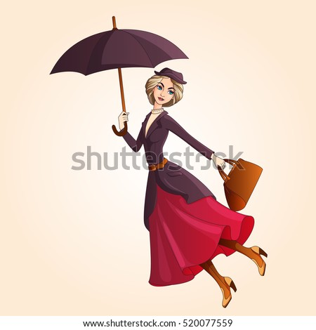 marry poppins a novel character