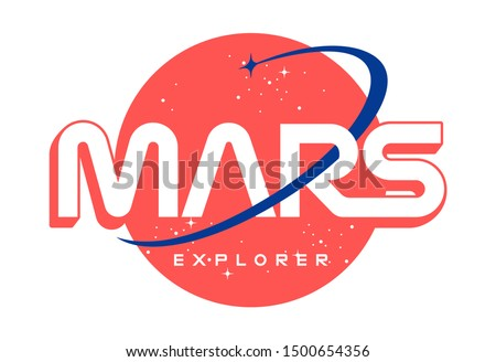 mars explorer slogan t shirt