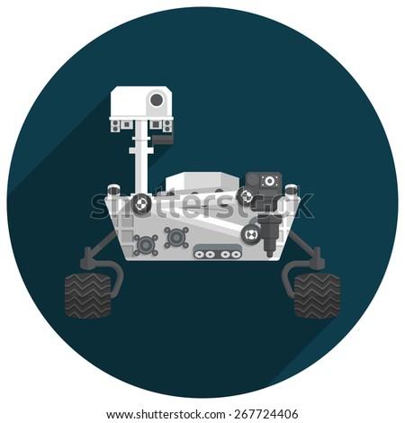 mars rover vector - photo #14