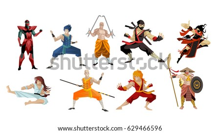 martial artists shaolin