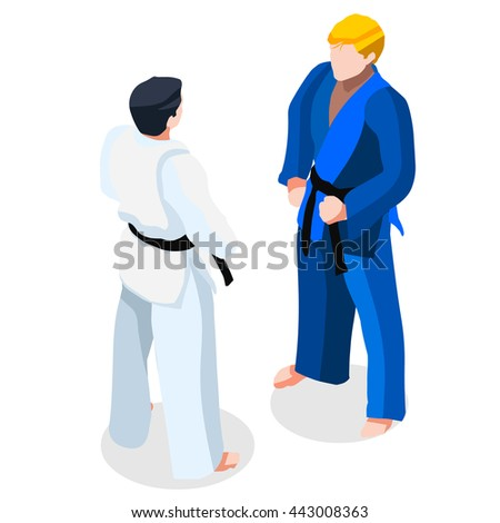 martial arts judo karate fight