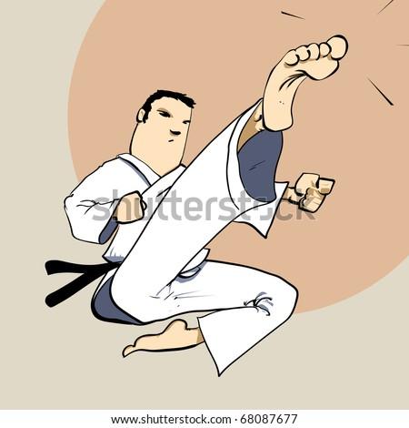 martial arts   karate power