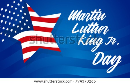 Martin Luther King  Jr. Day, January 15, Banner