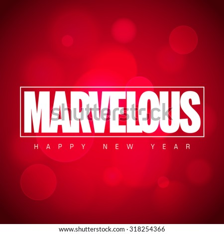marvelous happy new year
