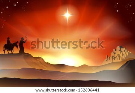 mary and joseph nativity