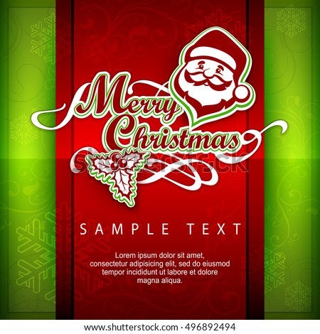 mary christmas poster text
