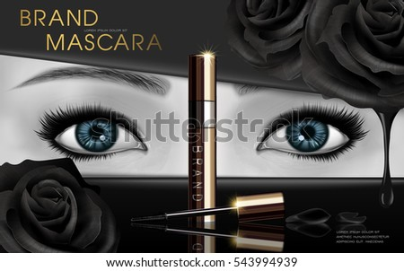 mascara design picture  with