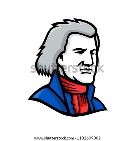 mascot icon illustration of