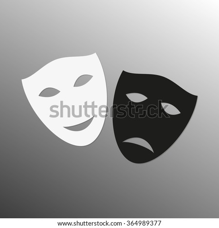 mask icon theater symbol