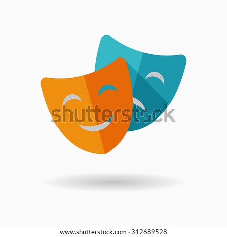 mask icon  vector illustration