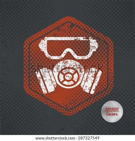 mask industry stamp design on