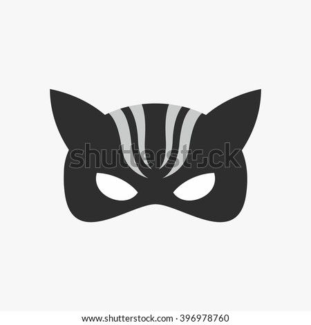 mask of super hero face