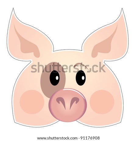 mask of the red cat, Be a pig at a party