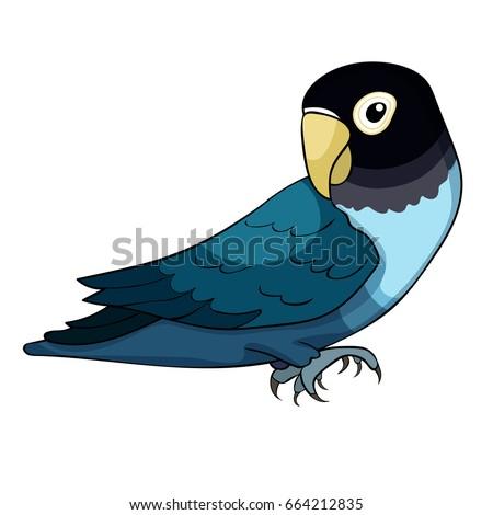 Gambar Lovebird Animasi