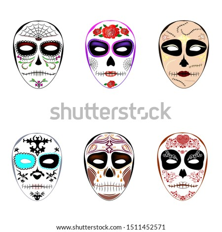 masks for the holiday halloween