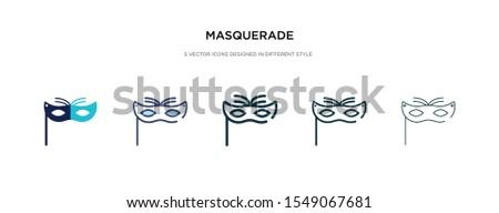 masquerade icon in different