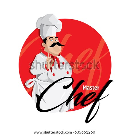 master chef vector character
