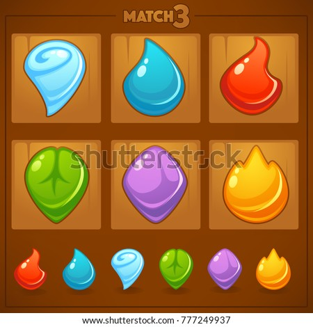 match 3 mobile game  games
