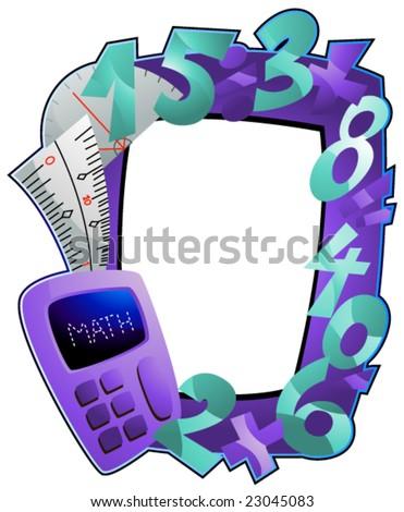 Math Frame - Vector - 23045083 : Shutterstock