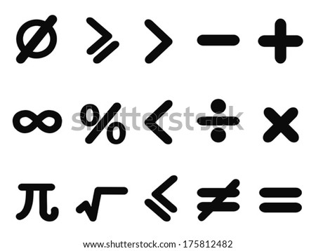 Isometric Math Symbols Vector Pack Download Free Vector Art Stock
