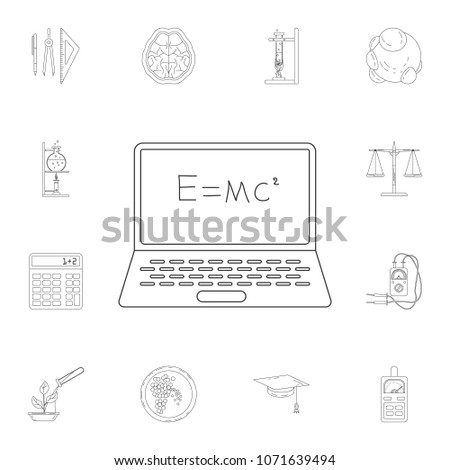 mathematical formula on a