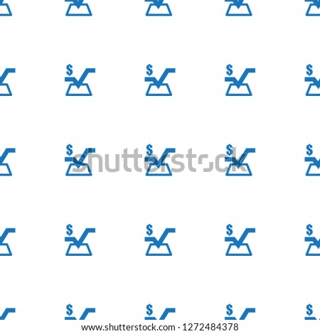 mathematical square icon pattern seamless white background. Editable filled mathematical square icon. mathematical square icon pattern for web and mobile.