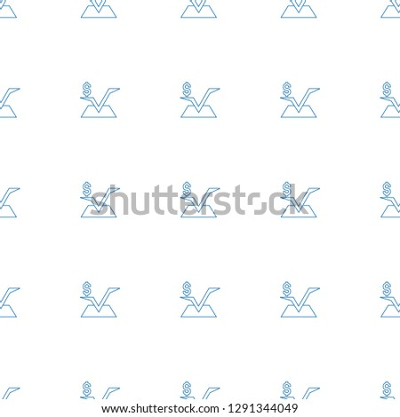 mathematical square icon pattern seamless white background. Editable line mathematical square icon. mathematical square icon pattern for web and mobile.