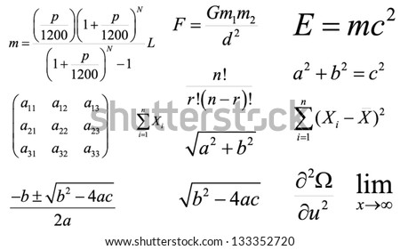 mathematics and physics vector