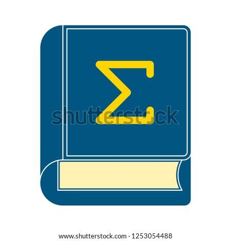 mathematics book cover icon