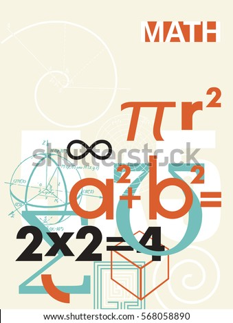 mathematics vector cover a