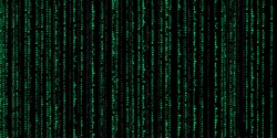 matrix code data background matrix code