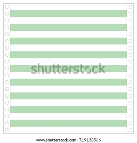 matrix printer paper old