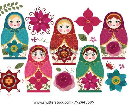matryoshka dolls   traditional