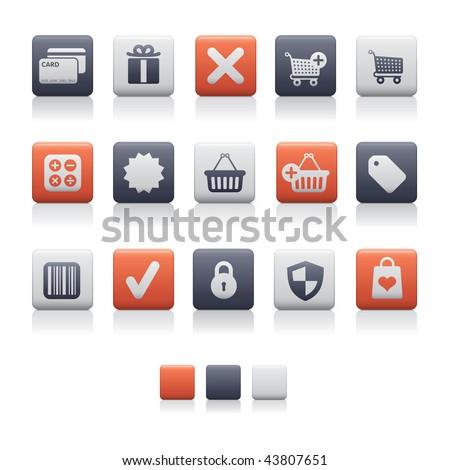 Matte Square - Shopping Soft. Adobe Illustrator EPS 8.