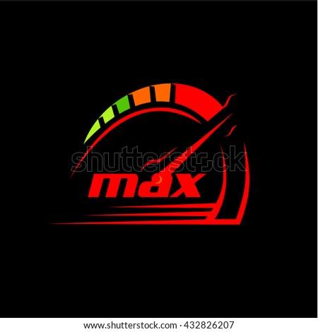 max   speedometer logo