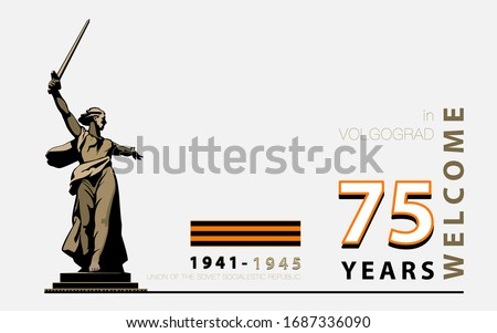 may 9 banner design victory day