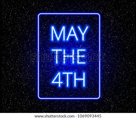 may the 4th abstract background