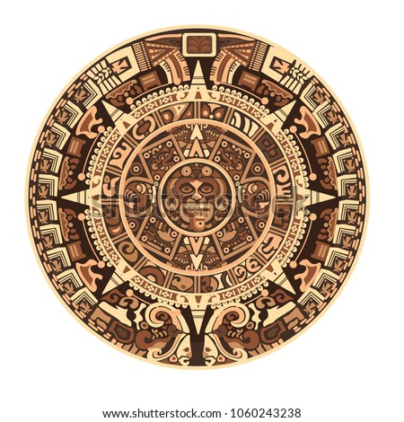 maya calendar of mayan or aztec