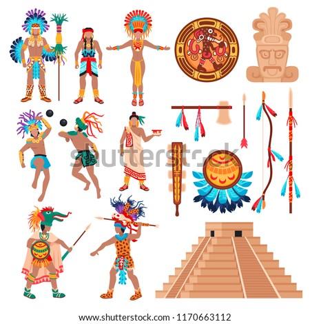 maya civilization set of