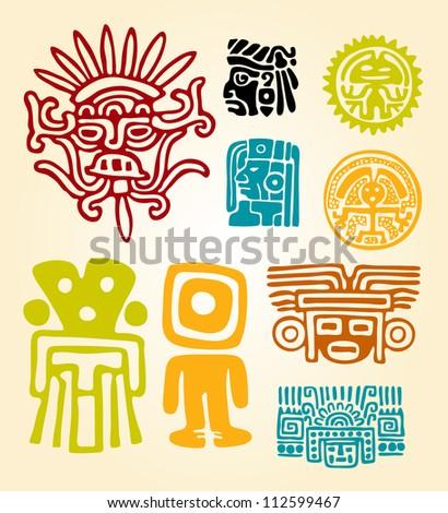 Maya Set- symbols