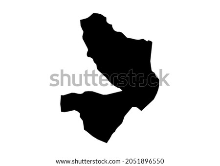 Mayo-Kebbi Est-Mayo-Kebbi East Region-Chad map, fully editable detailed vector map of Mayo-Kebbi Est-Mayo-Kebbi East Region-Chad . The file is suitable for editing and printing of all sizes. Photo stock ©