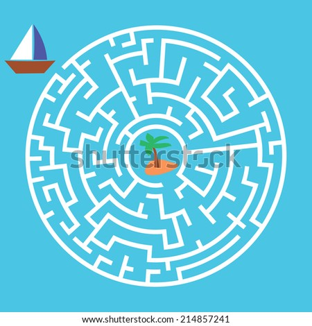 maze game boat is looking for